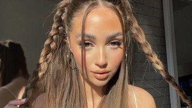 Bubble braids TikTok-haartrend