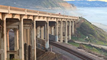 mooiste treinreis langs de westkust van amerika