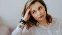 vrouw heeft last van stress