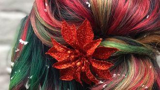 Deze kerstlook is de nieuwe haartrend