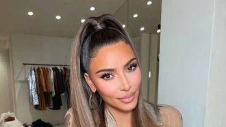 kim kardashian haarkleur