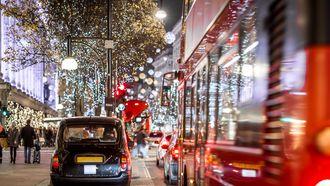 Oxford Street Londen kerst