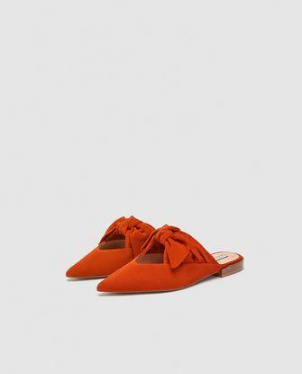 platte schoen Zara