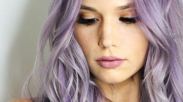 lila-haarkleur-zomertrend