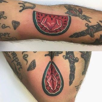 lelijke tattoo's