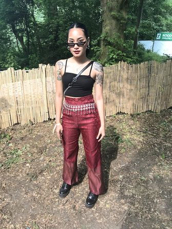 Amsterdam open air outfit