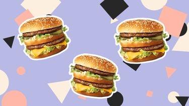 McDonald's ingrediënten rundvleesburger