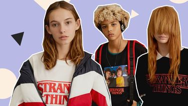 stranger things pull & bear collectie
