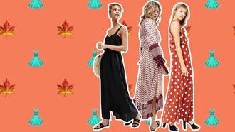 maxi jurk herfst zomer