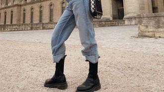 zwarte boots schoenen