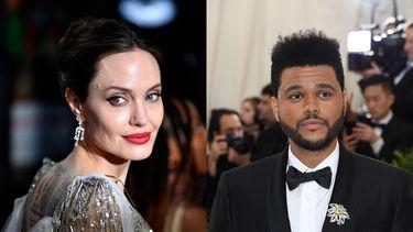 Angelina Jolie The Weeknd restaurant