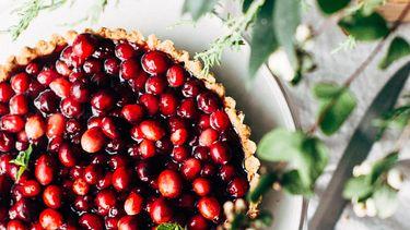 verantwoord genieten feestdagen cranberry taart