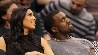 kim kardashian kanye west relatie