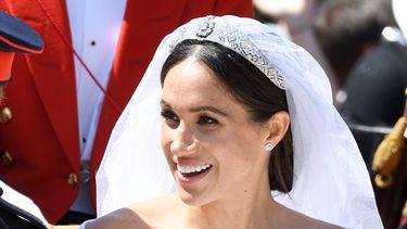 make-up van meghan markle op haar trouwdag