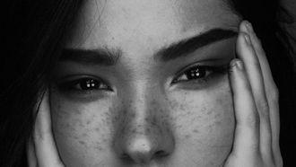 real skin make-up trend