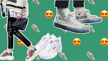 sneaker trends 2018