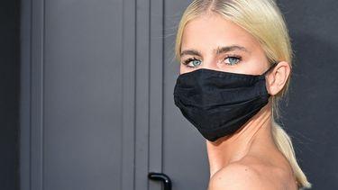 huid maskne mondkapje
