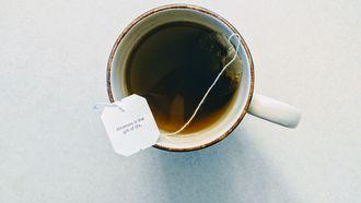 groene thee in een kopje