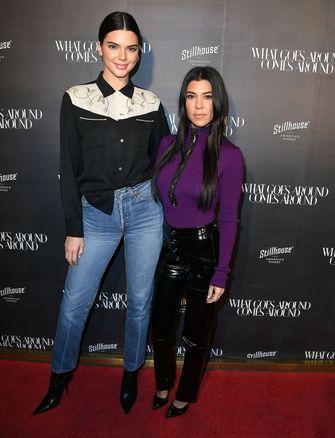 kendall jenner kim kardashian lengte