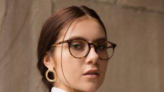 fashion wereld ouderwetse brillen