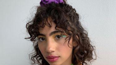 half opgestoken haarstijlen