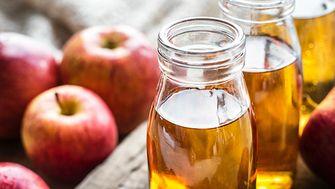 verbrand huishoudelijke producten, appelazijn