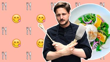 marks menu salade burrata