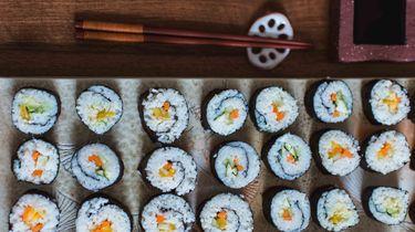vegan sushi restaurant amsterdam
