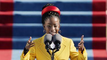 amanda gorman dichter inauguratie biden