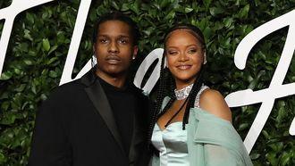 Rihanna A$AP Rocky kerst
