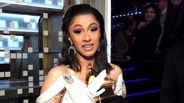 Cardi B Grammy Award