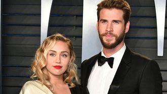 Miley Cyrus Liam Hemsworth getrouwd