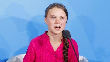 Greta Thunberg speech uitleg