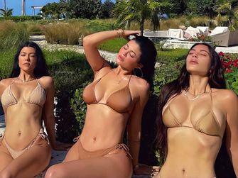 kardashian matching bikini