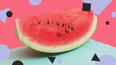 watermeloen nail art