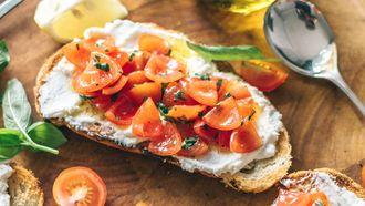 ricotta toast tiktok food trend