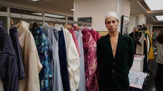 afgestuurde modeontwerpers lichting